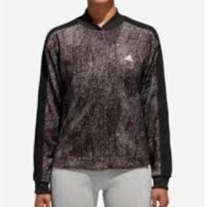 Adidas Printed Bomber Women's Jacket  BLACK XL